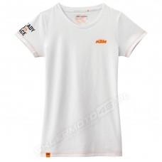 Koszulka biała KTM GIRLS RACING TEE