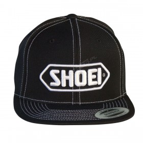 Czapka z daszkiem czarno-biała Shoei