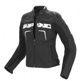 Damska kurtka skórzana SPIDI P147 Evorider Leather Lady Czarno/Biała