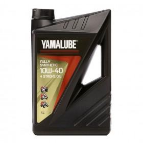 YAMALUBE 10W 40 Olej Full syntetyk 4-FS 4L (123-A .17)