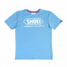 T-Shirt błękitny Shoei