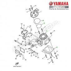 Zestaw cylinder + tłok Yamaha YZ125 2T 2000 (oem)