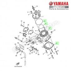 Zestaw cylinder + tłok Yamaha YZ125 2T 2012 (oem)