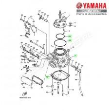 Zestaw cylinder + tłok Yamaha YZ250 2T 2001 (oem)