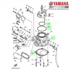 Zestaw cylinder + tłok Yamaha YZ250 2T 2010 (oem)
