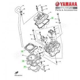Zestaw cylinder + tłok Yamaha YZ250F 2004
