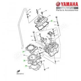 Zestaw cylinder + tłok Yamaha YZ250F 2007