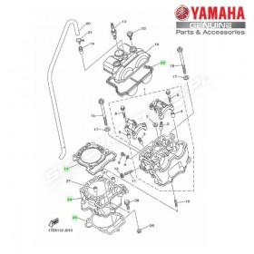 Zestaw cylinder + tłok Yamaha YZ250F 2010