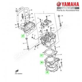 Zestaw cylinder + tłok Yamaha YZ450F 2003