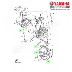 Zestaw cylinder + tłok Yamaha YZ450F 2004