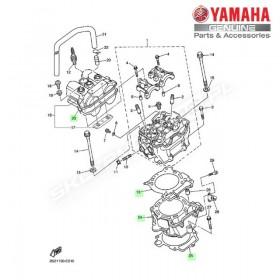 Zestaw cylinder + tłok Yamaha YZ450F 2006