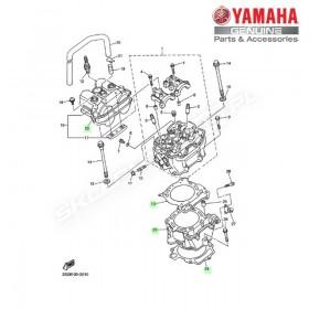 Zestaw cylinder + tłok Yamaha YZ450F 2008