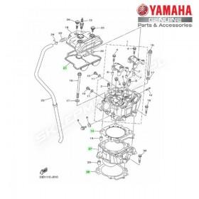 Zestaw cylinder + tłok Yamaha YZ450F 2012