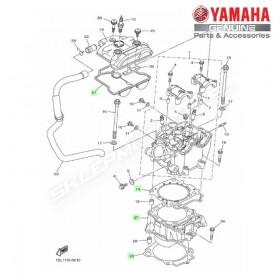 Zestaw cylinder + tłok Yamaha YZ450F 2015