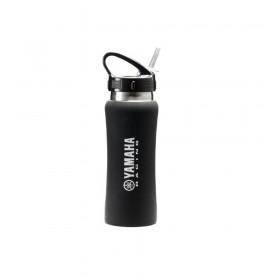 Butelka na wodę ze słomką Yamaha Racing-czarna