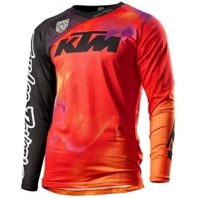 Bluza motocrossowa KTM Se Slash, pomarańczowa