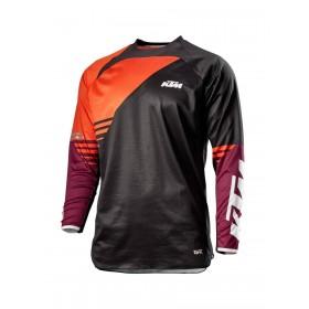 Koszulka z długim rękawem KTM MX GRAVITY-FX, czarna