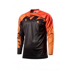 Koszulka terenowa z długim rękawem KTM POUNCE, czarna