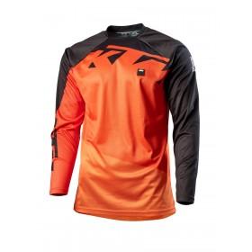 Koszulka terenowa z długim rękawem KTM POUNCE, pomarańczowa