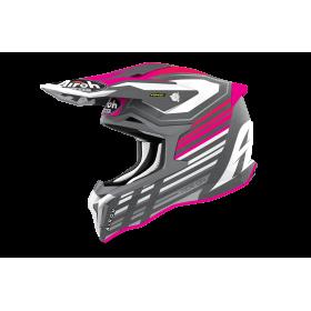 Kask AIROH STRYCKER Shaded Pink Matt