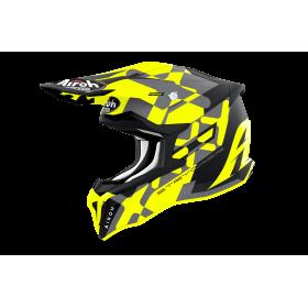 Kask AIROH STRYCKER Xxx Yellow Matt