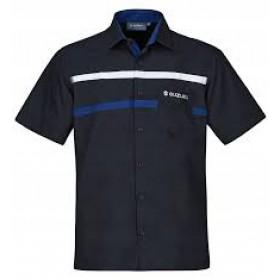 Koszula Firmowa niebieska Suzuki