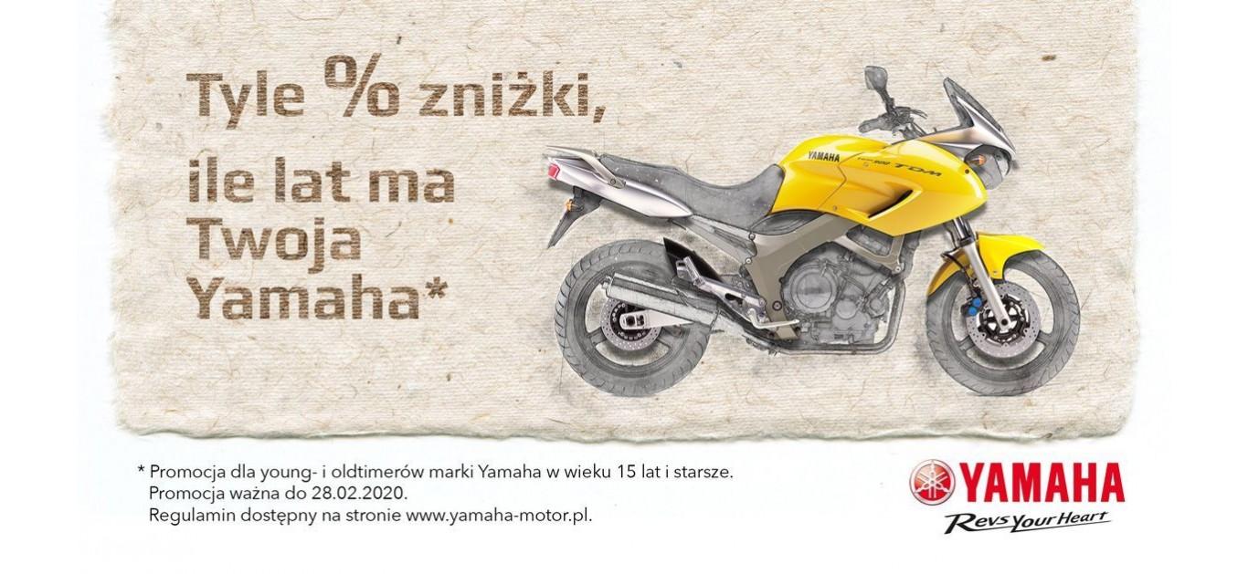 """Wraca legendarna promocja """"Tyle procent zniżki, ile lat ma Twoja Yamaha"""""""