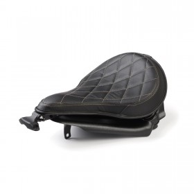 Sprężynowe, pojedyncze siedzenie typu bobber