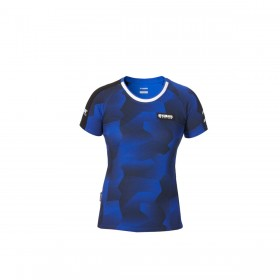 Koszulka damska Yamaha Paddock Blue, wzór moro