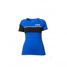 Koszulka damska Yamaha Paddock Blue