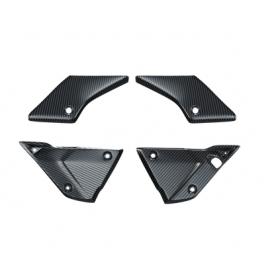 Zestaw paneli bocznych środkowych Tenere 700 - Carbon Fox